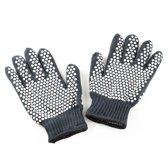 2x Premium Hittebestendige BBQ & Oven handschoen | Extra groot voor betere bescherming | beschermt tot max 500 graden | Dubbel gevoerd |hittebestendig | Anti - slip handschoenen | Anti slip Siliconen | barbecue, koken, haardhout | anti - slip