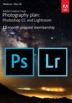 Adobe Creative Cloud Photography plan met 20GB - 1 Gebruiker - 1 Jaar - Windows / Mac