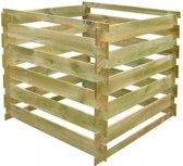 Houten compostbak 0,54 m3 (vierkant)