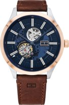 Tommy Hilfiger TH1791642 Horloge  - Leer - Bruin - Ø  44 mm