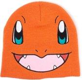 Pok�mon - Charmander Face beanie muts oranje - Televisie anime merchandise