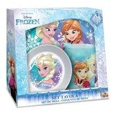Disney Eetset Frozen 3-delig Blauw/wit
