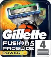 Gillette Fusion5 ProGlide Power - 4 stuks - Scheermesjes