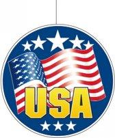 USA hangdecoratie 28 cm