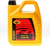 Kroon Motorolie 5 L can Kroon-Oil Bi-Turbo 15W-40 - 00328