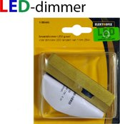 ELEKTROFIX 230V snoerdimmer voor dimbare LED-lampen 1-25W| GOUD