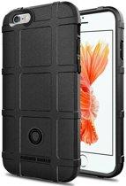 iPhone 6(s) Plus hoes - Heavy Armor TPU Bumper - Zwart