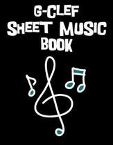 G-Clef Sheet Music Book
