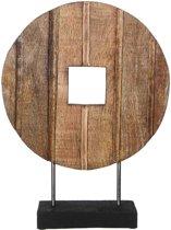 Casa Vivante sarone beeld bruin maat in cm: 34 x 10 x 45