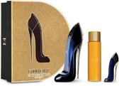 Carolina Herrera Good Girl Eau De Perfume Spray 80ml Set 3 Pieces + Good Girl Legs Oil 100ml + Mini Parfum