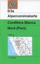 DAV Alpenvereinskarte 0/3A Cordillera Blanca Nordteil 1 : 100 000