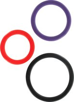 ToyJoy triple Rings - Cockring - 3 stuks