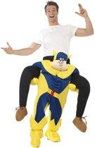 Instapkostuum bananaman voor volwassenen - grappig kostuum