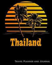 Thailand Travel Planner and Journal