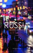 Russia 5 x 8 Weekly 2020 Planner: One Year Calendar