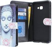 Samsung Galaxy J4 Plus 2018 hoesje - CaseBoutique - Boeddha print - Kunstleer