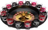 Drankspelletje drinking roulette 17-delig