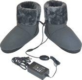 Obbomed MF-2320L - 12V verwarmbare sloffen voet verwarming - heerlijke warme voeten met deze voetverwarming- maat 40 tot 44