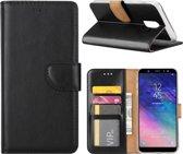 Xssive Hoesje voor Samsung Galaxy J8 2018 - Book Case - Zwart