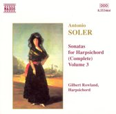 Soler:Son. For Harpsich. Vol.3