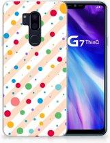 LG G7 Thinq TPU Hoesje Design Dots