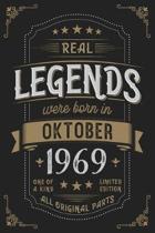 Real Legends were born in Oktober 1969