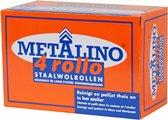 Metalino Staalwol Rol - Ø 3,5 cm - 15 cm - 4 Stuks