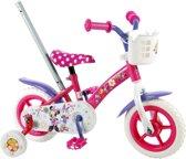 Disney Minnie Bow-Tique - Kinderfiets - 10 Inch - Meisjes - Roze