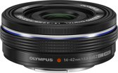 Olympus M ZUIKO Digital - Lens - ED 14-42 mm - F3.5 - 5.6 EZ - Zwart