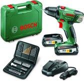 Bosch PSR 18 LI 2 Accuboormachine 18 V Met 51 delige accessoireset