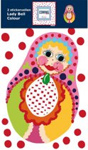 Coming Kids Lady Bell Colour Stickervellen