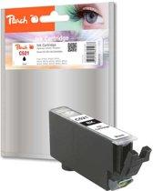 Peach C521 - Inktcartridge Canon CLI-521 - Zwart