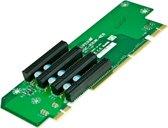 Supermicro RSC-R2UW-4E8 Intern PCIe interfacekaart/-adapter