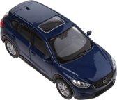 Welly Schaalmodel Mazda Cx-5 1:34 Blauw 11 Cm