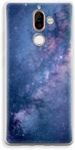 Nokia 7 Plus Transparant Hoesje (Soft) - Nebula