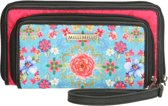 Melli Mello Lyan portemonnee groot - bloem multi -