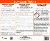 Sonixlab TEK13 intensieve alkalische ultrasoon vloeistof (injectoren) - 1 liter