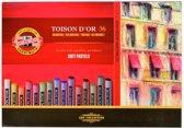 Koh I Noor Toison d'Or Soft Pastels 36 stuks