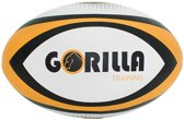 Gorilla Training Wedstrijd Rugbybal Pvc Unisex Wit Maat 4