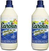 Carolin vloerreiniger met lijnolie 2x1l