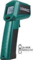 VONROC Digitale infrarood thermometer met laser –