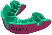 OPRO Silver Bitje Junior Roze/Fluo groen