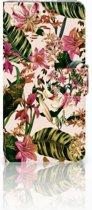 HTC U Play Uniek Boekhoesje Flowers