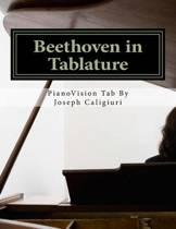 Beethoven in Tablature