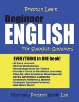 Preston Lee's Beginner English For Swedish Speakers