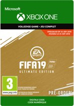FIFA 19: Ultimate Edition - Xbox One
