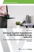 Venture Capital Investments in the Renewable Energy Industry