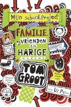 Omslag van 'Tom Groot 12 - Familie, vrienden en harige wezens'