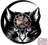 """Vintage Vinyl Klok """"JobaStores®"""" Kat 001"""