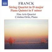 Franck: String Quartet/Piano Q.
